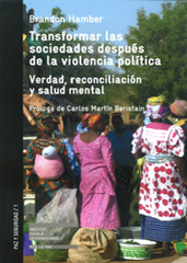 Transforming Societies after Political Violence: Truth, Reconciliation, and Mental Health by Brandon Hamber